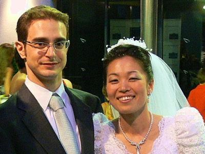 Boda Ai y Ale pepino Votos de matrimonio en japonés